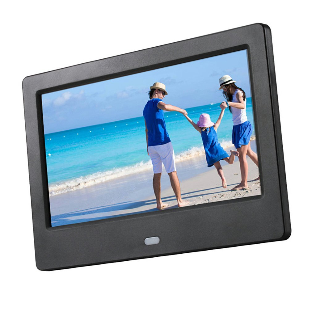 NEW 7 Inch Lcd Widescreen Hd Led Electronic Photo Album Digital Photo Frame Wall Advertising Machine Gift photo frame digital