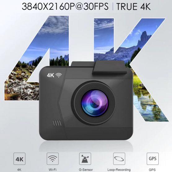 Maiyue star Full HD 1080P Car DVR True 4K 3840 * 2160p 30fps Maiyue star Full HD 1080P Car DVR True 4K 3840 * 2160p 30fps Camera Built-in WIFI GPS Cam Rear Camera Multifunction Recorder