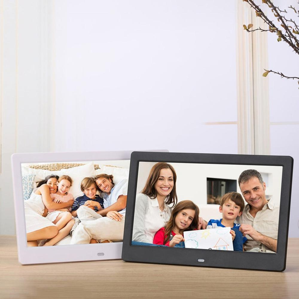 10 inch Screen LED Backlight HD Digital Photo Frame Electronic Album Photo Music Film Full Function Good Gift