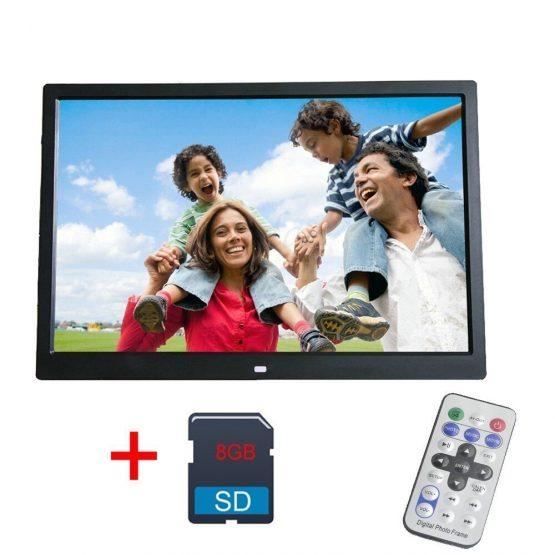 Digital Photo Frame 8GB LED Backlight High-Definition 1280 X 800 12 Inch Digital Photo Frame 8GB LED Backlight High-Definition 1280 X 800 Digital Album Image Music Video digitale fotolijst