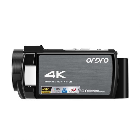 Ordro WIFI AE8 Vlog Camera Full HD Touch Screen 4K Video Ordro WIFI AE8 Vlog Camera Full HD Touch Screen 4K Video Kamera Digital IR Night time Imaginative and prescient Camera Fotografica Profesional Camcorder
