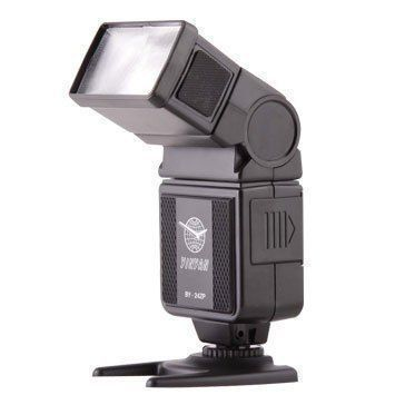 YinYan BY-24ZP Universal Hot Shoe Flash Speedlite for canon nikon Olympus Pentax Fujifilm Dslr Camera