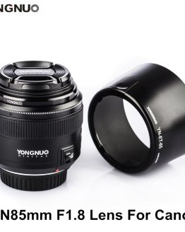 YONGNUO YN85mm F1.8 Lens AF / MF Standard & Medium Telephoto Prime Lens fixed focus lens For Canon EF Mount DSLR Camera Lenses