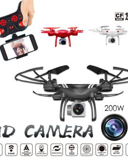 Clearance KY101 4CH 6Axis 720P HD Gimbal Camera RC Drone FPV WIFI Quadcopter One Key Return Foldable vs SG907 F11