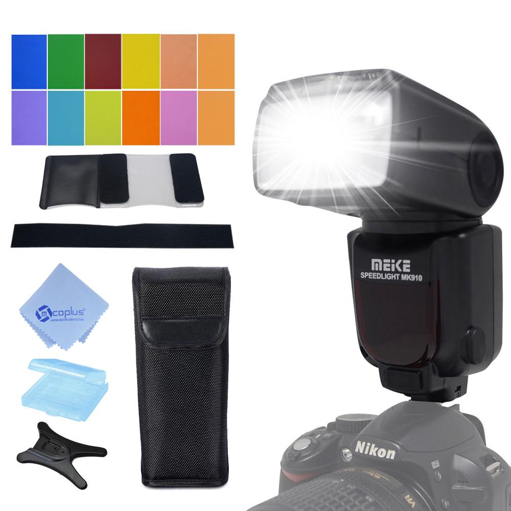 Meike MK-910 MK910 TTL 1/8000s HSS Sync Master & Slave flash speedlite for Nikon SB-910 SB-900 D7100 D800 D5500 D750 DSLR camera