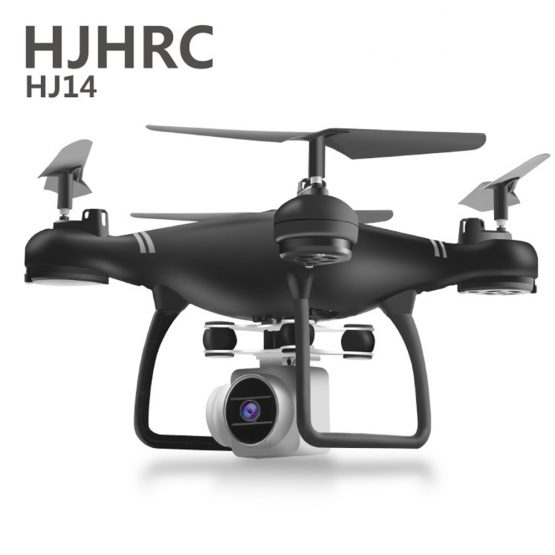 HJ14W Camera Drone Camera Drones Air RC Foldable Quadcopter Toy Gift with HD 1080P Video Camera WiFi FPV Battery Charging NO 4K