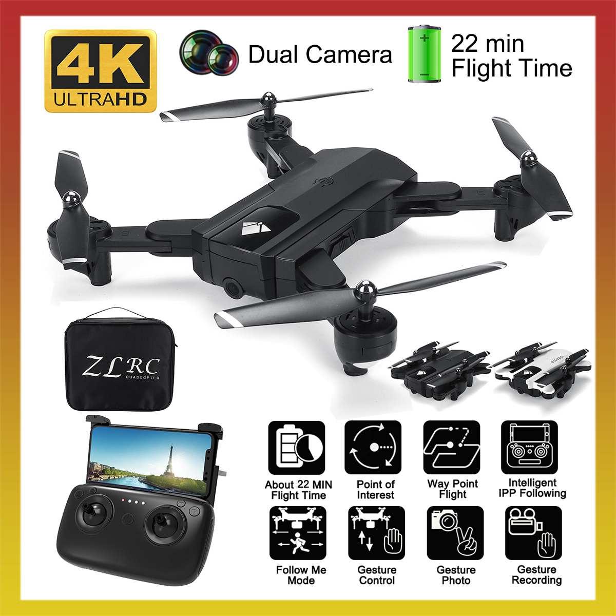 SG900 Wifi RC Drone 4K 1080P HD Dual Camera drone GPS Follow Me Quadrocopter FPV Drone Professional Long Battery Life drones