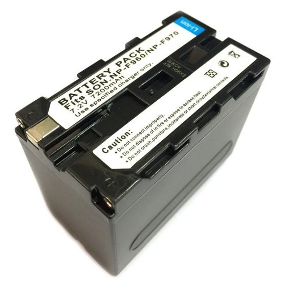 Compatible with Sony NP-F970 Battery NP-F970 Camera Photography Light Monitor Lithium Battery