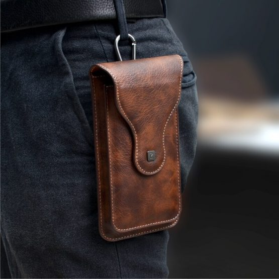 Belt Clip Holster Case for Phone Mobile Phone Bag 2 Pouchs for Samsung Note 10Plus 9 8 for iPhone 11 Pro Max XS Max 6 7 8 plus
