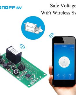 SONOFF SV Safe Voltage Long Distance Remote Timing WiFi Wireless Switch Module for IOS/Android Smart Home