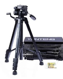 Yunteng VCT-668 Professional Flexible Tripod To Monopod for SLR Digital Camera Support with Ball Head Carrying Bag