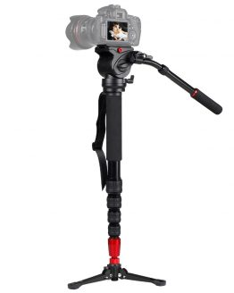 ASHANKS JY-0506 Aluminum Professional Monopod Video tripod for camera with Tripods Head Carry Bag JY0506