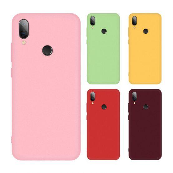 Redmi 7 Colorful TPU Silicone Case For Xiaomi Redmi Note7 Note 8 Phone Coque For Redmi Note 7 8 Pro Soft Back Cover Case 2019