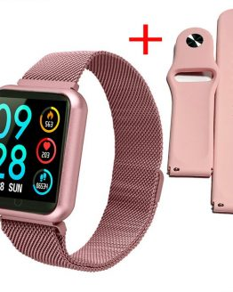 Women smart watch IP68 Waterproof Lady Smart Band Heart Rate