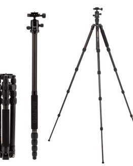 MeFOTO Carbon Fiber Tripod Monopod C1350Q1 SLR Camera Portable Tripod With Tripod Head Photography Equipment Lightweight