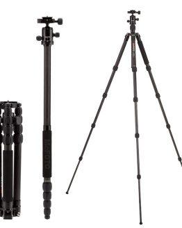 MeFOTO Carbon Fiber Tripod Monopod C1350Q1 SLR Camera Portable Tripod With Tripod Head Photography Equipment Lightweight