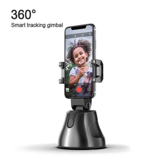 Apai Genie Smartphone Selfie Shooting Gimbal 360° Face Object Follow Up Selfie Stick for Photo Vlog Live Video Record Broadcast