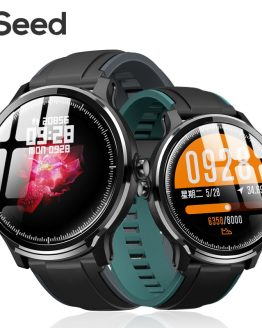 ESEED SN80 smart watch men IP68 waterproof 60days long standby 1.3 inch full touch screen Allloy case Heart rate smartwatch
