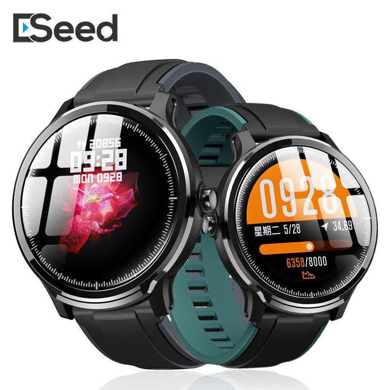 ESEED SN80 smart watch men IP68 waterproof 60days long standby 1.3 inch full touch screen Allloy case Heart rate smartwatch