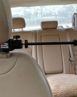 Car Headrest Clamp Mount + Tripod Adapter for GoPro Video Camera, Camcorders, DV, Smartphones SJCAM 456000 Xiaomi yi Accessories