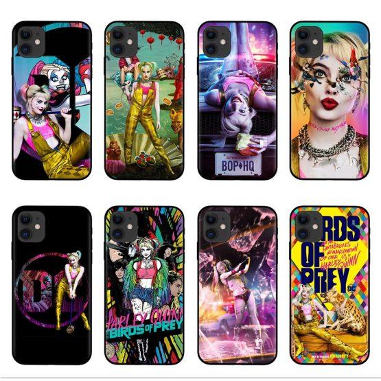 Birds of Prey Harley Quinn 2020 Case for Apple iphone 11 Pro X XS Max XR 7 8 6 6S Plus 7S 5 5S SE Soft TPU Coque Phone Cover