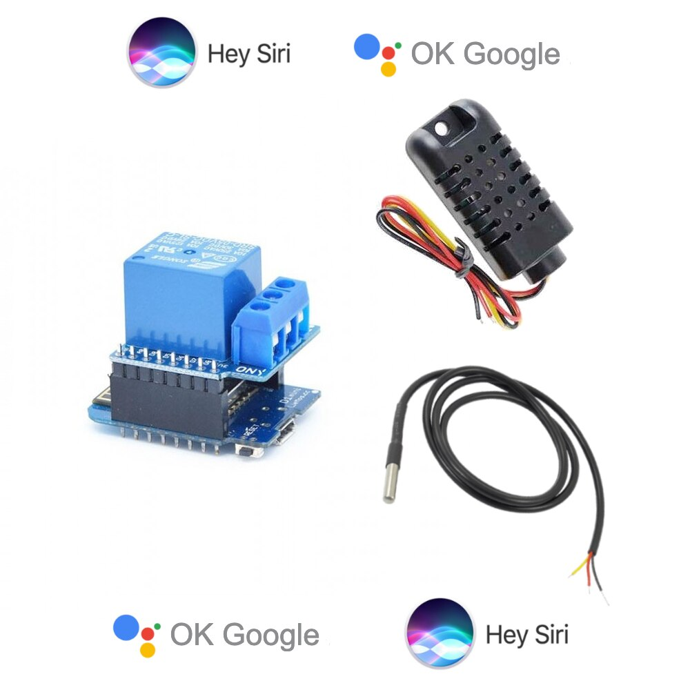 Smart Home Thermostat Apple Homekit Compatible WiFi Dry Contact Automation Module Google Assistant Wemos WiFi iot Remote Control