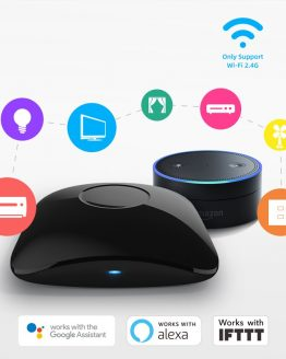 2020 Broadlink RM4 Pro Smart Remote Controller WiFi IR RF Intelligent Smart Home Automation Compatible With Alexa Google Home