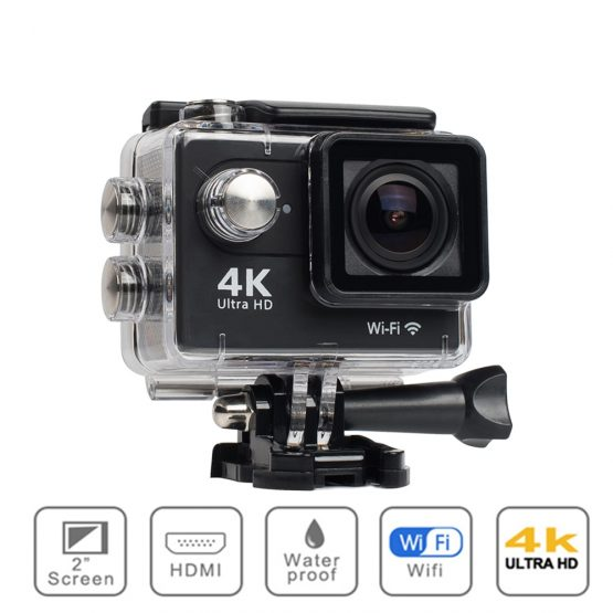 "Original H9 Action Camera Ultra HD 4K / 30fps WiFi 2.0"" 170D Underwater Waterproof Gopro Video Recording Cameras Sport Cam"
