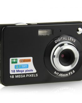 2.7inch 18MP 720P Children Portable Mini Digital Camera 8X Zoom TFT LCD Screen Video Camcorder Anti-Shake Photo Camera Kids Gift