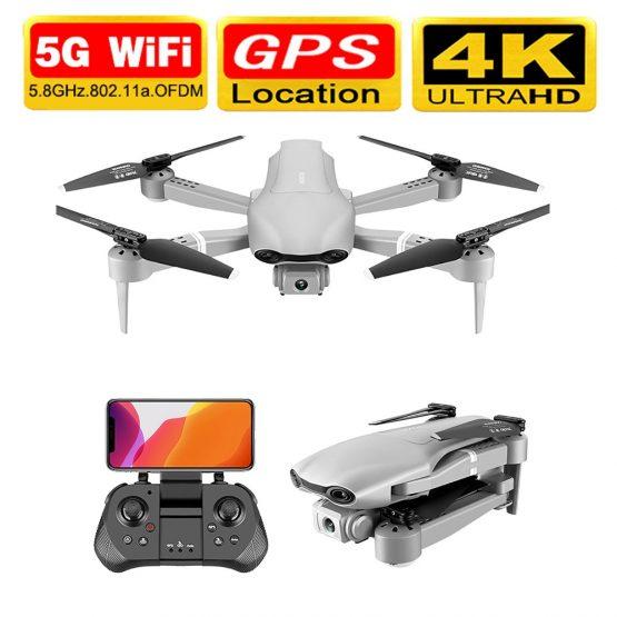 Drone 4k F3 drone GPS 4K 5G WiFi live video FPV quadrotor flight 25 minute rc distance 500m drone HD wide-angle dual camera dron