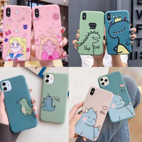 Cartoon Animal Sailor Moon Silicone TPU Phone Case For Huawei P30 P20 Honor 10 10i 9x 8x Mate 20 10 Pro Nova 3 3i 4 Case Fundas