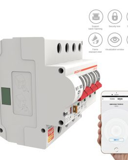 New 4P Circuit Breaker WIFI Switch Smart Life/tuya Control Overload Protection Smart Home Smarthome Work With Google Home Alexa