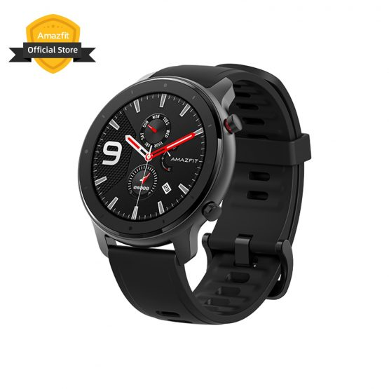 Amazfit GTR 47mm Lite Smart Watch 5ATM Silicone Strap Smartwatch 24 Days Battery for Android ios phone