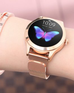 KW10 Smart Watch IP68 Waterproof Women Lovely Bracelet Heart Rate Monitor Sleep Monitoring Smartwatch Connect IOS Android band