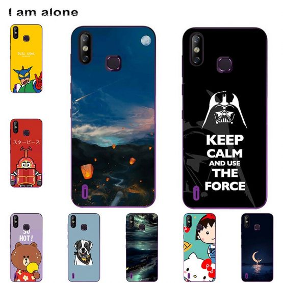 Phone Cases For Infinix Smart 4 X653 2019 6.6 inch Soft TPU Bags Mobile Cartoon Printed Cover Free Shipping