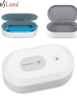 UV Disinfection Box UV Phone Sanitizer Charger Prevent Flu For Mobile PhoneHeadphones Mask Jewelry Sterilizer Kill 99.9% Virus