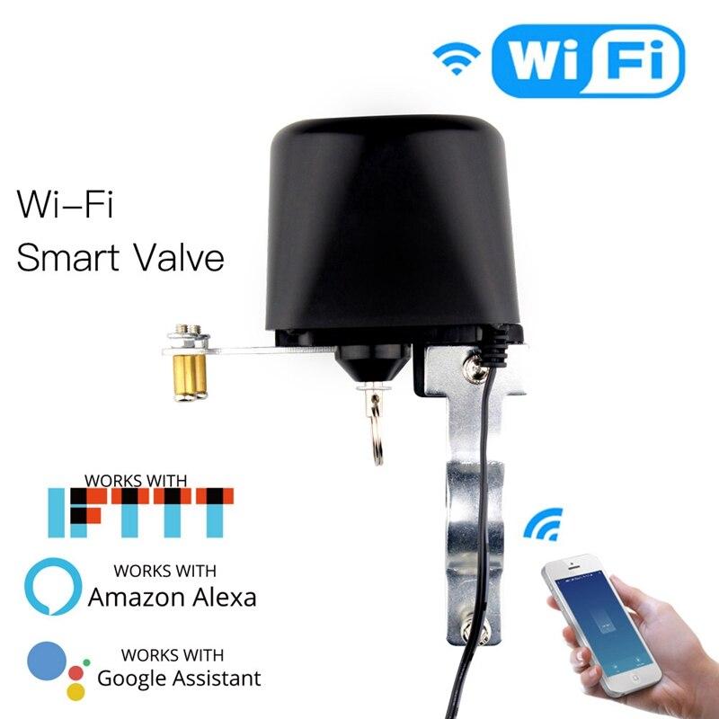 Wifi Smart Valve Controler for Home Automation System for Gas or Water Voice Control Smart Home Alexa Echo Google Home EU Plug