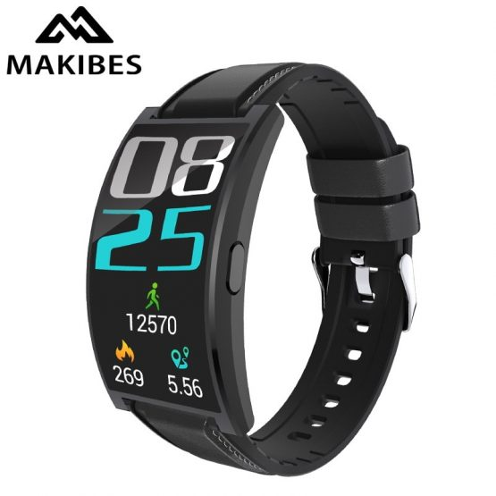 "Makibes T20 Curved screen 1.5"" Flexible AMOLED Smart watch"