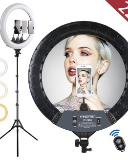 22 inch LED Ring Light Kit,tiktok ring light with 2M Foldable Tripod Stand