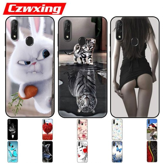 ZTE Blade V10 Case Silicone TPU Back Cover Cartoon Protective Phone Case For ZTE Blade V10 Vita V 10 V10Vita BladeV10 Case Soft