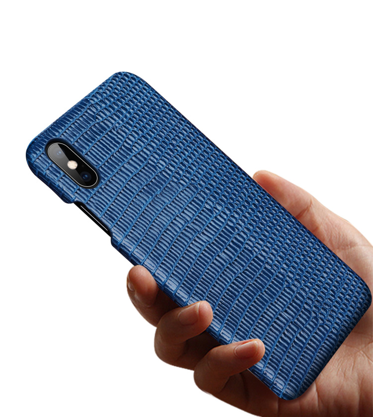 Luxury leather lizard phone case for iPhone 11 7 8Plus XS XR XS MAX case for Samsung S10 S10Plus Note8 Note9 phone case CKHB-BD3