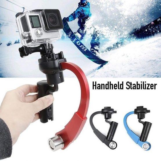 Mini Handheld Camera Stabilizer Video Steadicam Gimbal For Go Pro Hero Series SJCam EKEN Other Sport Action Camera Accessories