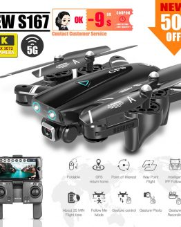 S167 dron 4k GPS quadcopter drone with camera toys rc helicopter profissional quadrocopter FPV toy racing VS S20 SG907 X8 ex4