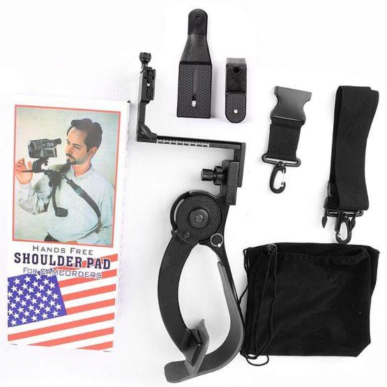 Q440A Hands Free 8kg Load Capacity Camera Shoulder Support Pad for DV DSLR Camera Stabilizer Outdoor Live Show DLSR Video Holder