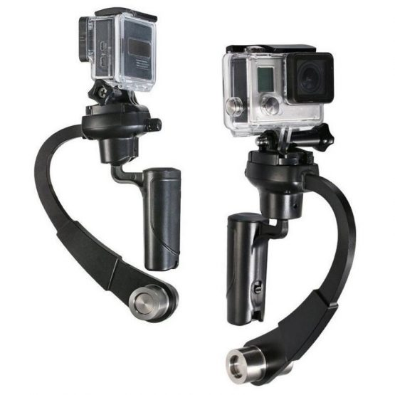 Portable Mini Handheld Aluminum Camera Stabilizer Gimbal For DSLR GoPro Hero Other Digital Sport Action Camera Accessories