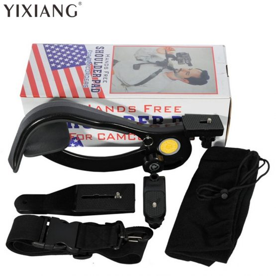 YIXIANG Cameras Shoulder support Pad New DV DC Camcorders Hand Free Video Cameras Shoulder Tripod Support