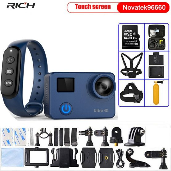 Action Camera Ultra HD 4K/30fps 1080p/60fps NT96660 Wifi 12MP Helmet Video Recording Camera Waterproof Sports Camera