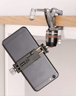 Phone Travel Clamp Kits with Go Anywhere Multi Clamp, Micro Ballhead and Phone Tripod Mount for iPhone Smartphone Phonegrapher