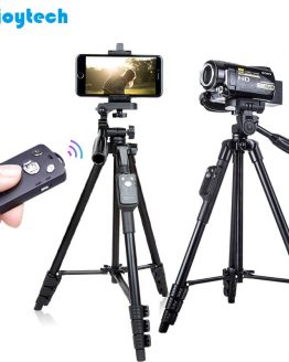 Professional Tripod with Holder Bluetooth Remote for Iphone Samsung Xiaomi Phones Tripod Stand for Nikon/Canon DSLR Cameras