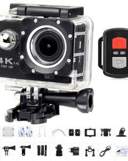 "New H16R Action Camera 4K WiFi Ultra HD 2.0"" 170D Underwater go Waterproof pro Helmet Video Recording Cameras Sport Mini Cam"